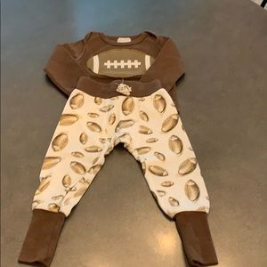 Mud Pie football outfit